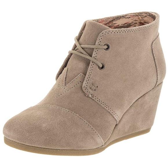 Toms Shoes - TOMS Desert Wedge Bootie